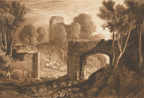 An image of East Gate, Winchelsea by Joseph Mallord William Turner