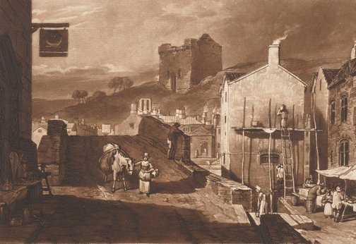 An image of Morpeth by Joseph Mallord William Turner