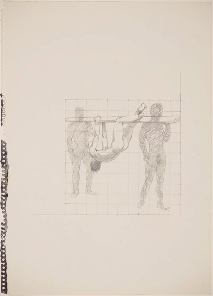 An image of Study for 'Shadow and substance' by James Gleeson