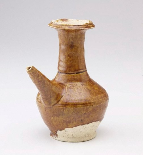 An image of Kendi  with straight spout by Changsha ware