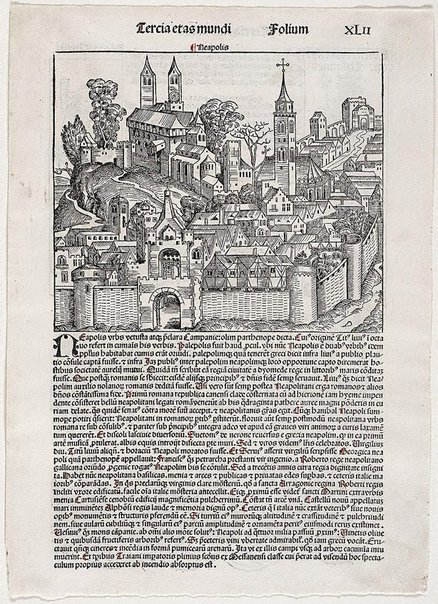 An image of Naples by Michael Wolgemut, Wilhelm Pleydenwurff