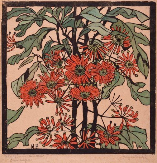 An image of Wheelflower by Margaret Preston