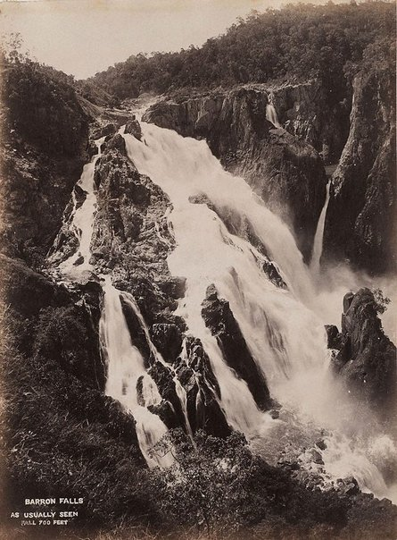 An image of Barron Falls. 700 ft by Unknown