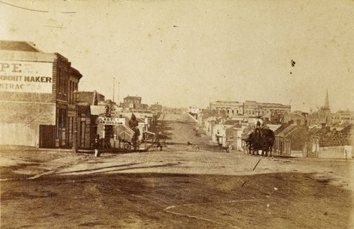 An image of Untitled (Street scene, Melbourne) by Davies & Co