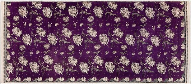 An image of Batik sarong with design of anemones