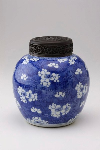 An image of Ginger jar by Jingdezhen ware
