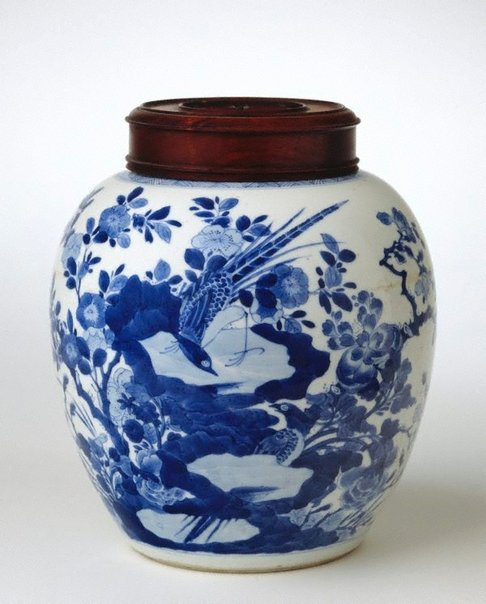 An image of Ginger jar by