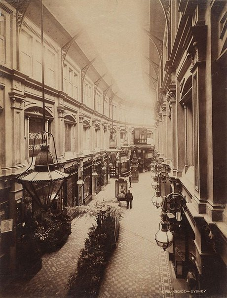 An image of The Royal Arcade, Sydney by Unknown, NSW Government Printer