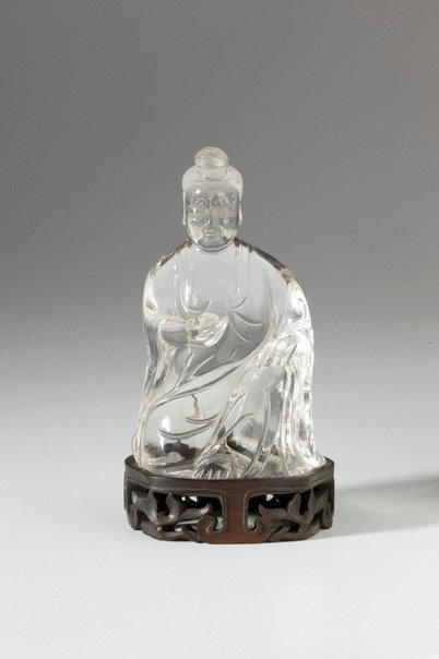 An image of Seated figure of Guan-Yin by