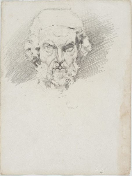 An image of Homer, from a cast by Lloyd Rees