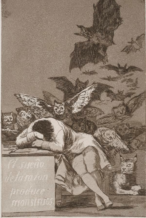 An image of The sleep of reason produces monsters
