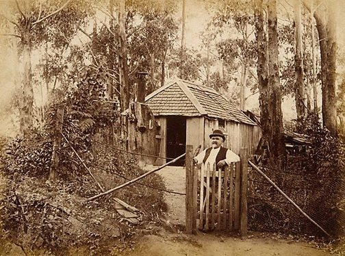An image of Old Louis House Bulli Pass by Unknown, Kerry & Co