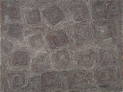 An image of Untitled (Kutungka Napanangka) by George Ward Tjungurrayi