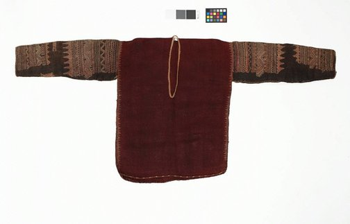An image of Shirt with silk embroidery on sleeve by