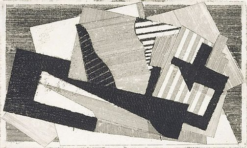 An image of The bird by Jacques Villon