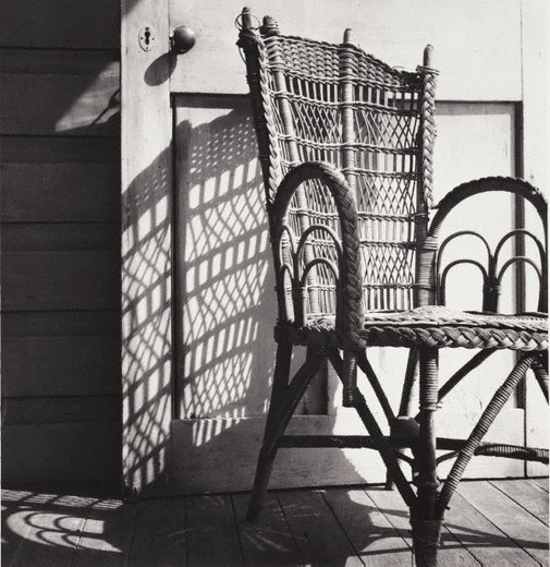 An image of Chair and shadows by David Moore