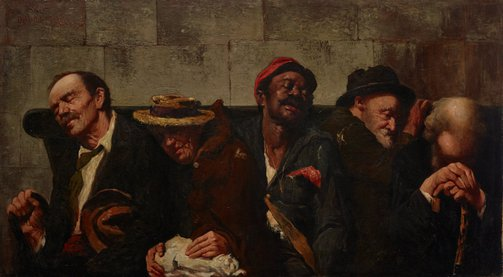 An image of Poverty makes strange bedfellows by Antonio Dattilo-Rubbo