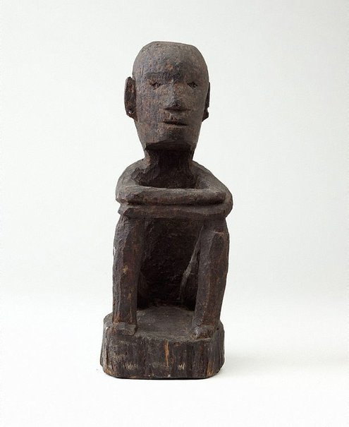 An image of Seated 'bulul' Rice God figure by
