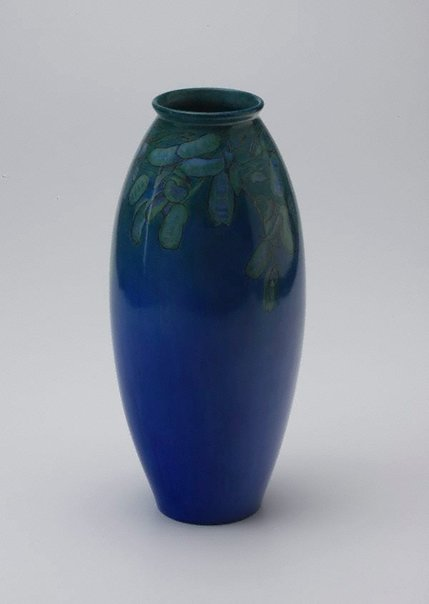 An image of Vase with legume design by Ada Ione Newman