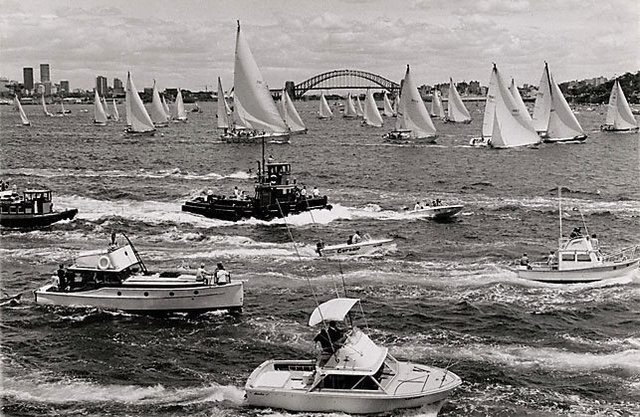 An image of Sydney - Hobart yacht race start
