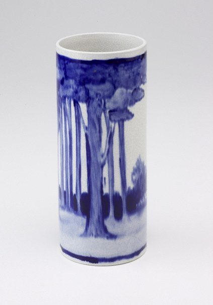 An image of Vase with pastoral design by Martin Moroney