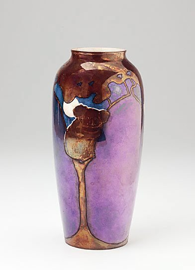 An image of Vase with koala design by Vi Eyre