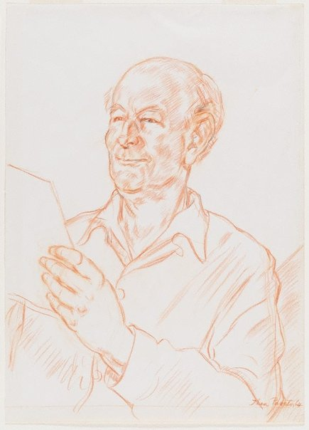 An image of Portrait of Roland Wakelin by Thea Proctor