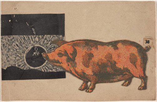 An image of 38 [pig and hole] by Carl Plate