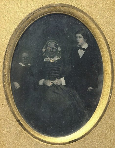 An image of Jannet Walker and grandsons James and John Stephenson by Unknown