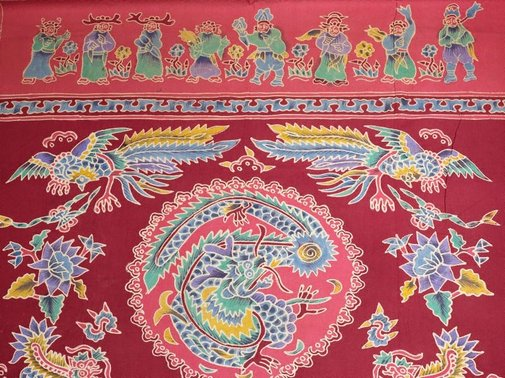 An image of Batik altar cloth (tok wi) by
