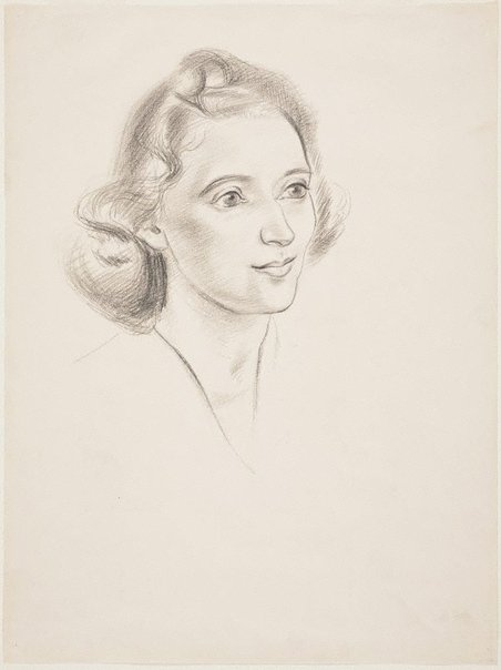 An image of Portrait of a young woman by Adelaide Perry