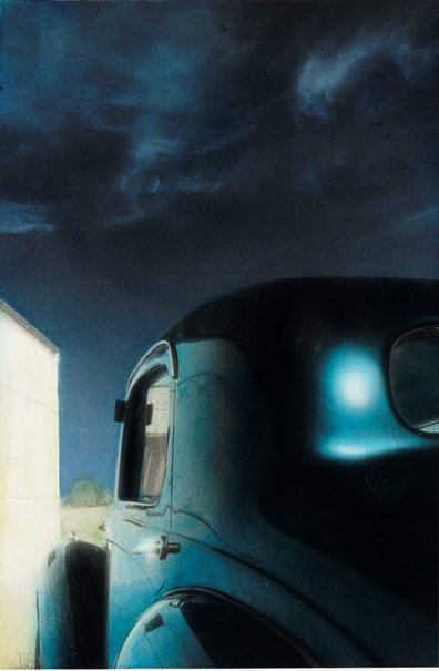 An image of Untitled (car and sky) by Kate Breakey