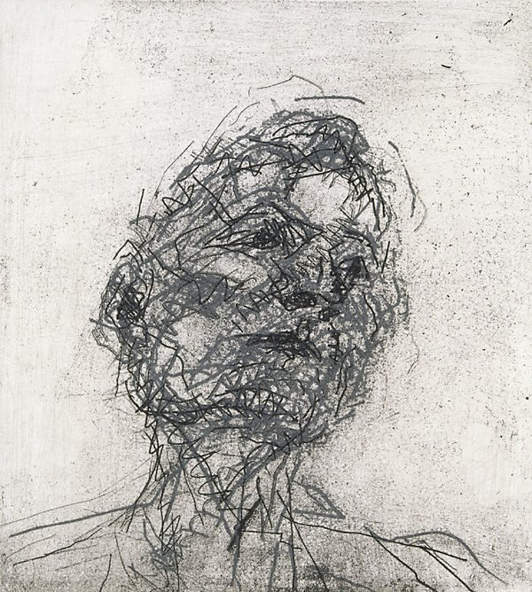 An image of Lucian Freud