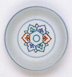 Alternate image of Dish with 'ruyi' design by Jingdezhen ware