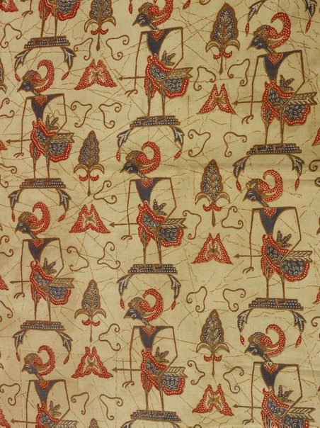 An image of Batik cloth (kain panjang) by