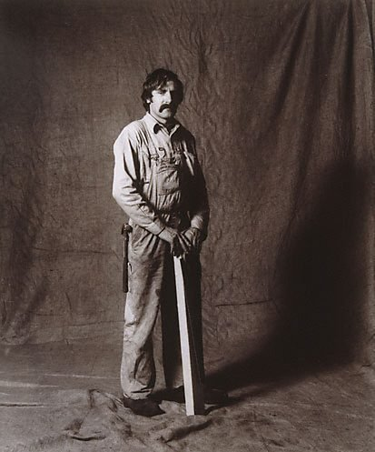 An image of Mick Garovic, carpenter, CSR 3 years, Italian by Graham McCarter