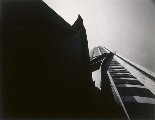 An image of Australia Square and Calder sculpture, Sydney by Max Dupain