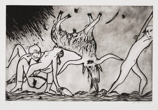 An image of The Australian scapegoat by Arthur Boyd