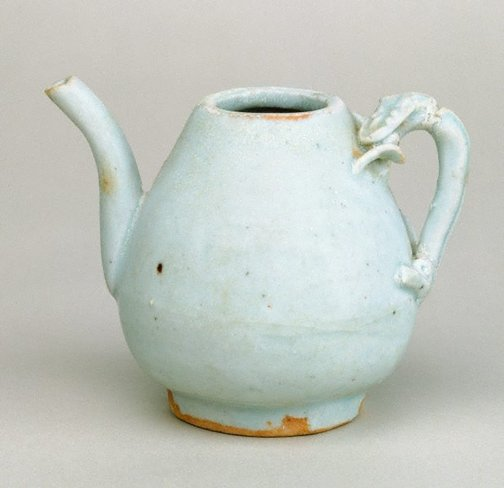 An image of Small ewer with dragon handle by Jingdezhen ware