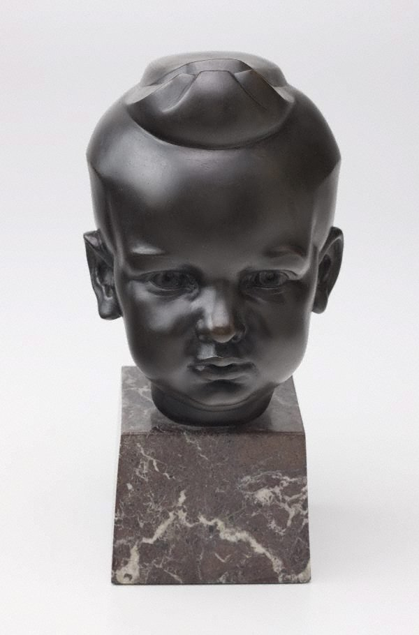 An image of Head of Norman McGrath, aged three
