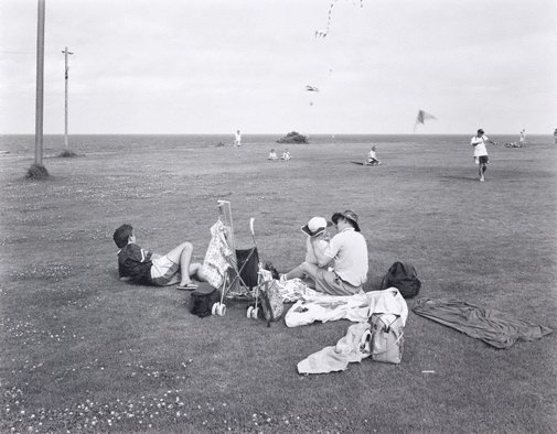 An image of Kite-flying at Trenerry Reserve, Coogee, New South Wales by Peter Elliston