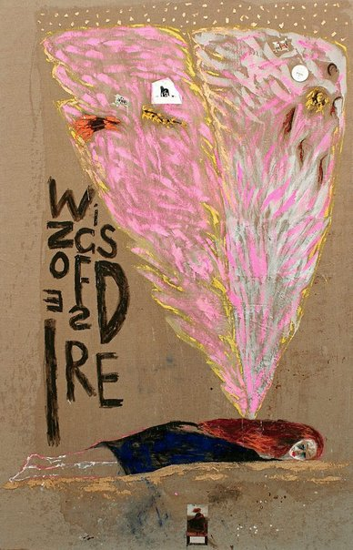 An image of Wings of desire 1 by Jenny Watson