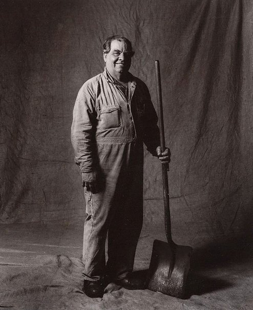 An image of Arthur Jackson, coal runner, CSR 36 years, Australian by Graham McCarter