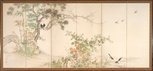 Alternate image of Birds and flowers of the four seasons by Yamamoto BAIITSU