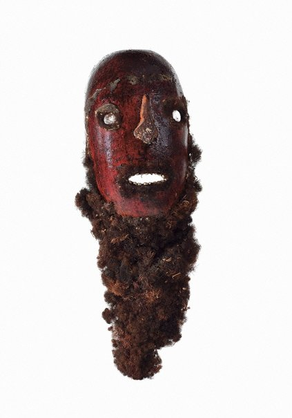 An image of Solkeo pe engelop (gourd mask) by