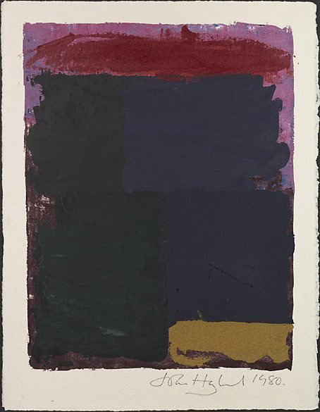 An image of Untitled by John Hoyland