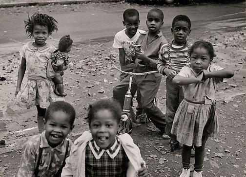 An image of U.S.A., children in Washington D.C. by David Moore