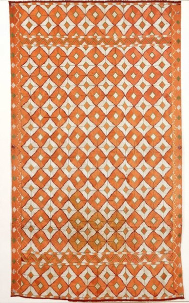 An image of 'Phulkari' with abstract design by