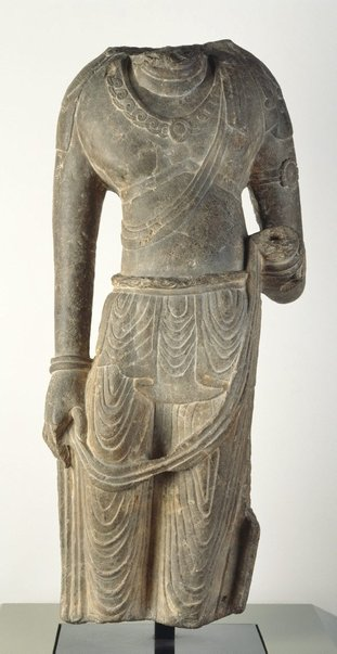 An image of Figure of a Bodhisattva by