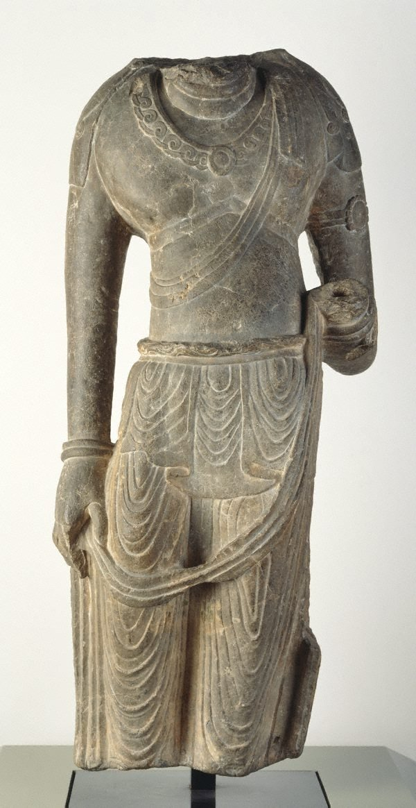 An image of Figure of a Bodhisattva